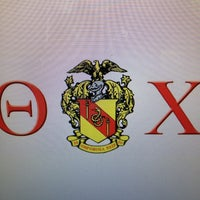 Photo taken at Theta Chi Fraternity by Roosevelt Tre W. on 5/8/2013