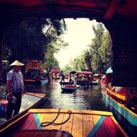 Photo taken at Xochimilco by Ernesto C. on 6/9/2013