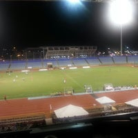 Photo taken at Hasely Crawford Stadium by Shea S. on 7/9/2013