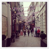 Photo taken at St Christopher's Place by Jack H. on 6/23/2013