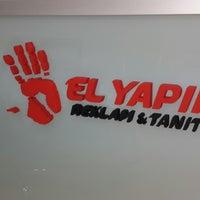 Photo taken at El Yapım Reklam & Tanıtım by Serkan V. on 2/6/2014