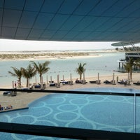 Photo taken at Jumeirah at Etihad Towers by MAN UAE on 3/21/2013