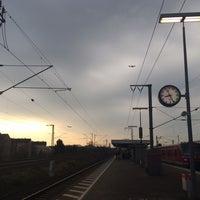 Photo taken at Frankfurt Niederrad Railway Station by Hande u. on 3/7/2014