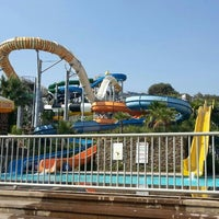 Photo taken at Aqua Park by Süleybe Ş. on 6/23/2016