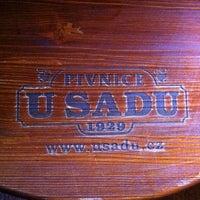 Photo taken at U Sadu by Vlad K. on 12/28/2012