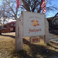 Photo taken at Fort Worth Food Park by Michael P. on 1/3/2013