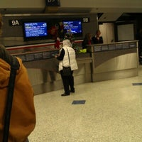 Photo taken at Gate B9 by Coty G. on 12/25/2012