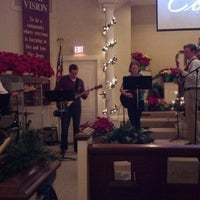 Photo taken at Osterville Baptist Church by Danbob A. on 12/24/2012