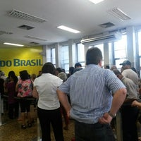 Photo taken at Banco do Brasil by Lolline C. on 9/1/2014