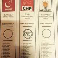 Photo taken at Kahramanlar Mustafa Öğütveren Ortaokulu by MEHMET K. on 6/7/2015