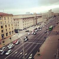 Photo taken at Гостиница «Минск» / Minsk Hotel by Aleks L. on 7/15/2013