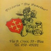 Foto scattata a Da Pancino da Nicola C. il 3/15/2013
