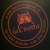 Photo taken at La Civetta Pub by Nicola C. on 10/27/2012