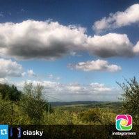 Photo taken at Peccioli by Nicola C. on 8/14/2014