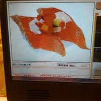 Photo taken at かっぱ寿司 会津若松南店 by rohami k. on 11/4/2015