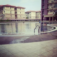 Photo taken at Upper Sanctuary Swimming Pool by Nursharim B. on 9/6/2014