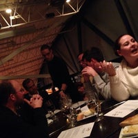 Photo taken at Orzo Kitchen & Wine Bar by Tina D. on 2/18/2014