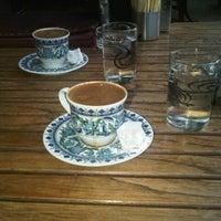 Photo taken at Sakız Ağacı Pastane & Cafe by Beyza Y. on 7/8/2013