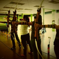 Photo taken at King's Archery Sports Centre by Nia R. on 3/9/2013