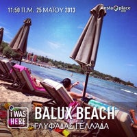 Photo taken at Balux Beach by Anastasis H. on 5/25/2013