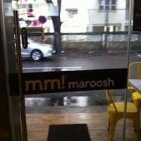 Photo taken at mm! maroosh by Saket S. on 9/1/2014