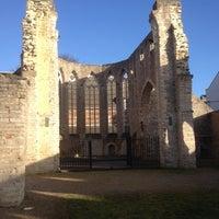 Photo taken at Begijnhofkerk by Nicholas W. on 2/2/2014
