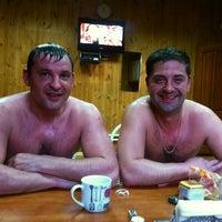 Photo taken at Русская баня by Игорь A. on 4/21/2014