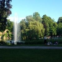 Photo taken at Parc de l'Orangerie by Rumpapapamm on 6/16/2013