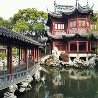 Photo taken at Yu Garden by David A. on 1/8/2013