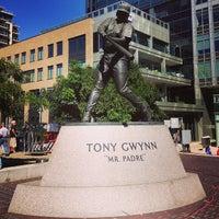 Photo taken at Tony Gwynn Statue by Arash M. on 9/23/2013