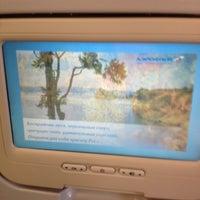 Photo taken at SU251 ICN-SVO / Aeroflot by Tae Yong K. on 9/28/2012