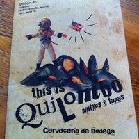Photo taken at Quilombo Pintxos & Tapas by ISM on 10/7/2012