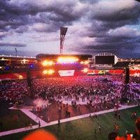 Photo taken at Spotless Stadium by Reg L. on 2/2/2013