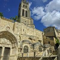 Photo taken at Église Monolithe by Reg L. on 5/12/2017