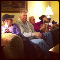 Photo taken at Clubhouse Oakbrook Inn & Suites by Owen M. on 12/28/2012
