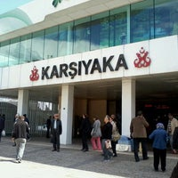 4/4/2013 tarihinde Aksel K.ziyaretçi tarafından Karşıyaka Vapur İskelesi'de çekilen fotoğraf