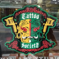 Photo taken at Tattoo Society by Murat T. on 7/12/2015