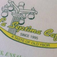 Photo taken at La Septima Cafe by MsP on 10/31/2014