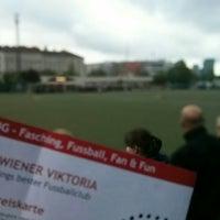 Photo taken at Sportclub Wiener Viktoria by Reinhard O. on 4/25/2014