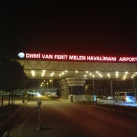 Photo taken at Van Ferit Melen Airport (VAN) by Ferhat . on 9/11/2013