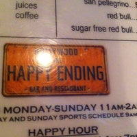 Photo taken at The Happy Ending Bar & Restaurant by Matthew K. on 12/31/2012