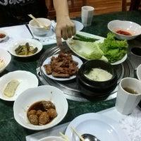 Photo taken at Baik Su by Mei L. on 2/27/2015