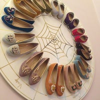 Photo taken at Charlotte Olympia by Ksenia L. on 4/27/2013