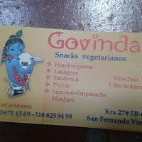 Photo taken at Govindas Snacks by Wilchea on 7/9/2014
