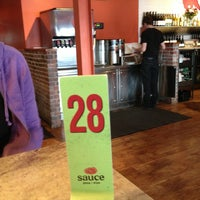 Photo taken at Sauce Pizza & Wine by Taylor S. on 2/12/2013