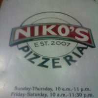 Photo taken at Niko's Pizzeria by Felicity S. on 1/16/2013