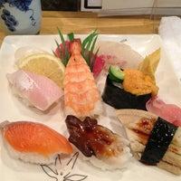 Photo taken at うを清 by kado-king on 1/12/2013