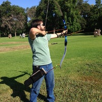 Photo taken at El Dorado Park Archery Range by Janelle B. on 8/28/2013