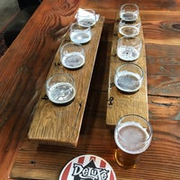 Photo taken at Deluxe Brewing Company by Dene G. on 6/15/2018