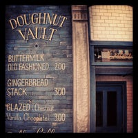 Photo taken at The Doughnut Vault by Brian E. on 7/20/2013